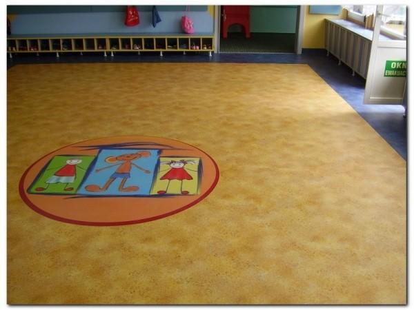 wykładzina pcv w przedszkolu