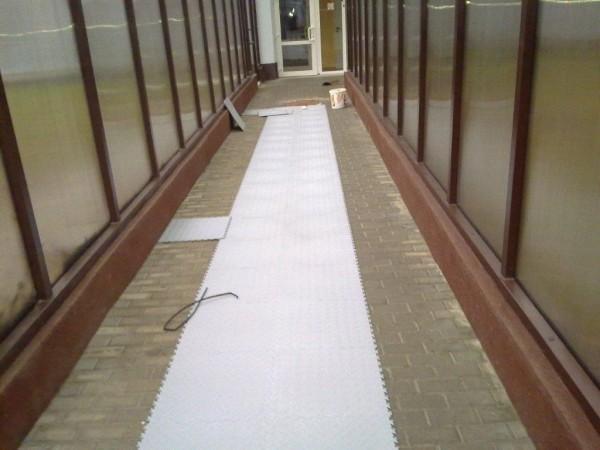 montaż podłogi
